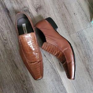 Steve Madden Hackett Leather Dress Shoes
